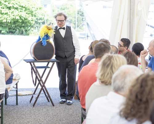 Bauchredner in Esslingen Unterhaltung für Geburtstag, Hochzeit, Firmenfeier und Jubiläum