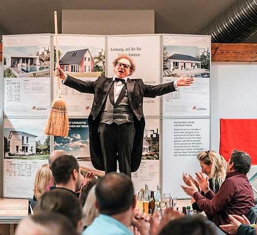 Zauberer in Freiburg Unterhaltung für Geburtstag, Hochzeit, Jubiläum