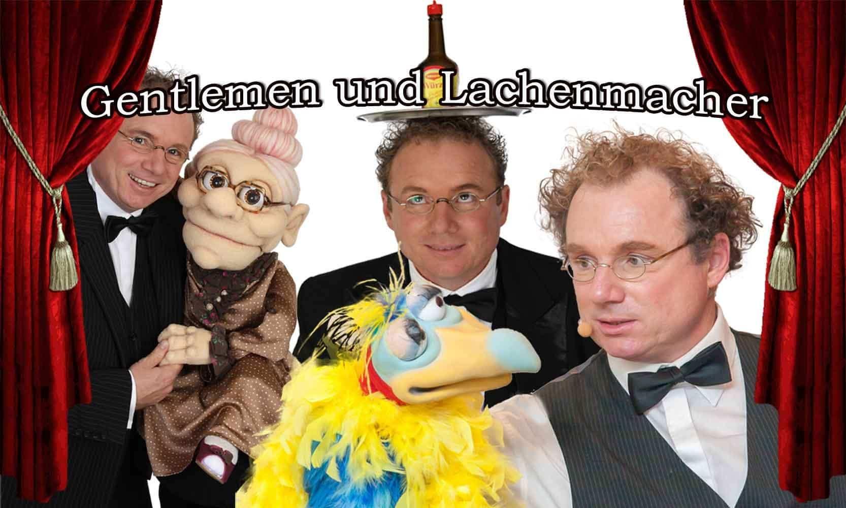 Bauchredner & Zauberer für Geburtstag, Hochzeit, Jubiläum